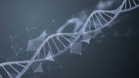 Абстрактная петля молекулы дна бесплатная иллюстрация