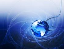 абстрактная планета Стоковая Фотография RF