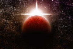 абстрактная планета Стоковые Фотографии RF