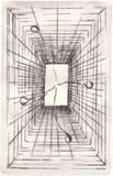абстрактная плоскость Стоковые Изображения