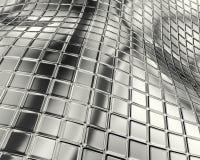 абстрактная поверхность кубика Стоковое Изображение
