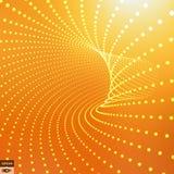 Абстрактная поверхность 3d выглядеть как воронка Стоковые Изображения
