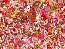 абстрактная покрашенная предпосылка Стоковая Фотография RF