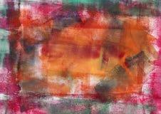 абстрактная покрашенная предпосылка Стоковое Изображение RF