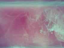 абстрактная покрашенная предпосылка Покрашенный дым, чернила в воде, картины вселенной Абстрактное замерли движение, который Стоковая Фотография