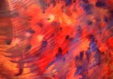 абстрактная покрашенная рука предпосылки стоковое изображение