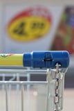 абстрактная покупка тележки Стоковые Фотографии RF