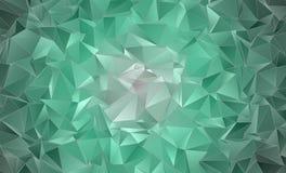 Абстрактная полигональная предпосылка Стоковое Изображение