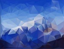 Абстрактная полигональная предпосылка Стоковые Фотографии RF