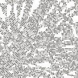 абстрактная поставленная точки предпосылка 3d представила место Стоковое Фото