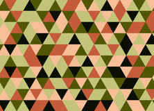 Абстрактная полигональная предпосылка геометрическая картина Backdro вектора Стоковые Фотографии RF