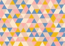 Абстрактная полигональная предпосылка геометрическая картина Backdro вектора Стоковая Фотография