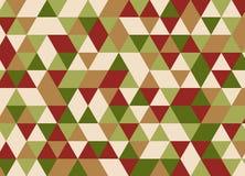 Абстрактная полигональная предпосылка геометрическая картина Backdro вектора Стоковая Фотография RF