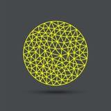 Абстрактная полигональная сфера бесплатная иллюстрация