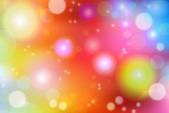 Абстрактная положительная яркая предпосылка / Серии цвета и света/ Стоковое Изображение RF