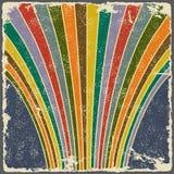 Абстрактная праздничная предпосылка фейерверков вектор Стоковое Изображение