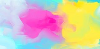 Абстрактная предпосылка акварели, красочная текстура иллюстрация штока