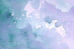 Абстрактная предпосылка акварели Стоковые Фото