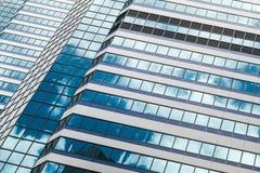Абстрактная предпосылка архитектуры офисного здания Стоковое Фото