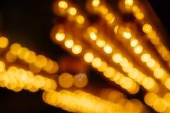 Абстрактная предпосылка вися Defocused светов стоковое фото rf