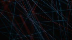 Абстрактная предпосылка выравнивает красную синь акции видеоматериалы