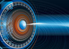 абстрактная предпосылка высокотехнологичная Стоковое Изображение RF