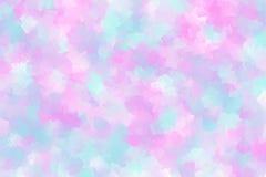 Абстрактная предпосылка в розовом и светлой - голубой стиль кубизма цвета стоковые изображения rf