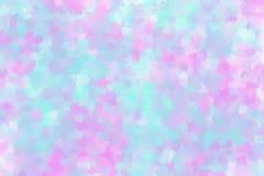 Абстрактная предпосылка в розовом и светлой - голубой стиль кубизма цвета стоковое фото rf