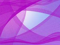 Абстрактная предпосылка в фиолетовых тонах Стоковая Фотография