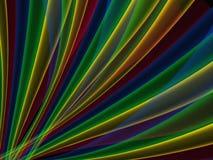 Абстрактная предпосылка в цветах радуги ярких Стоковое Фото