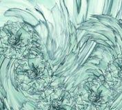 Абстрактная предпосылка гвоздичного дерева бирюзы Флористическая предпосылка с цветками бирюзы гвоздик Стоковое Фото