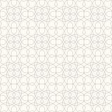 абстрактная предпосылка геометрическая флористическая картина безшовная Стоковые Изображения RF