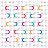 Абстрактная предпосылка диаграммы цвета геометрической круга бесплатная иллюстрация