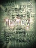 абстрактная предпосылка зарабатывая деньги Стоковые Фотографии RF