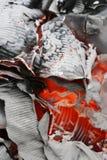абстрактная предпосылка золы горячая Стоковые Изображения RF