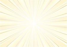 абстрактная предпосылка излучает солнце Стоковое Фото