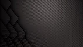 абстрактная предпосылка иллюстрации волокна углерода 3D иллюстрация штока