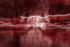Абстрактная предпосылка искусственного интеллекта стоковое изображение rf