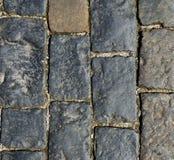 Абстрактная предпосылка - каменная текстура мостоваой Стоковые Изображения