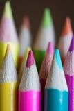Абстрактная предпосылка карандашей стоковые фото