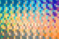 Абстрактная предпосылка картины блоков квадрата стоковые изображения