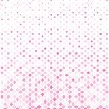 Абстрактная предпосылка картины квадрата пинка полутонового изображения, Vector современное Стоковое Изображение RF