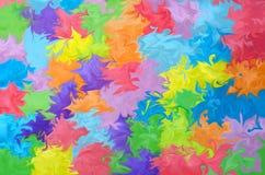 Абстрактная предпосылка картины Радуга акварели Нарисованная рука, бумажная текстура цветасто Красный, апельсин, желтый, зеленый, иллюстрация штока