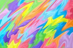 Абстрактная предпосылка картины Радуга акварели Нарисованная рука, бумажная текстура цветасто Красный, апельсин, желтый, зеленый, бесплатная иллюстрация