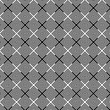 Абстрактная предпосылка картины op искусства геометрическая черно-белая бесплатная иллюстрация