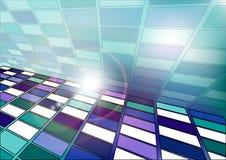 Абстрактная предпосылка квадратов Стоковые Изображения