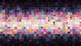 Абстрактная предпосылка, квадрат Стоковое Изображение