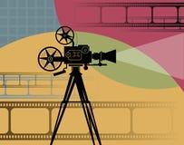 Абстрактная предпосылка кино бесплатная иллюстрация