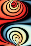 абстрактная предпосылка красивейшая иллюстрация вектора