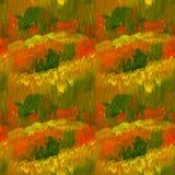Абстрактная предпосылка краски масла цвета падения Стоковые Фотографии RF
